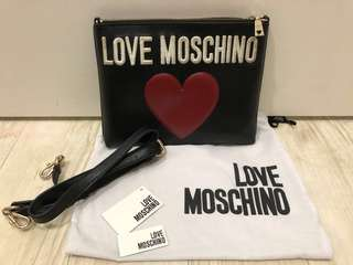 Authentic LOVE Moschino Clutch / Sling Bag