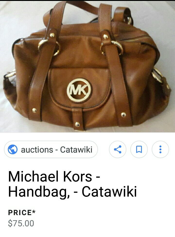 3223dd741e 100% authentic MK michael kors, Luxury, Bags & Wallets on Carousell