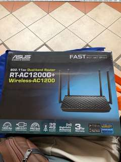 Brand New sealed ASUS RT-AC1200G+ Dual Band Wireless Router