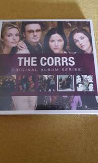 The Corrs Original Album Series 5 CDs