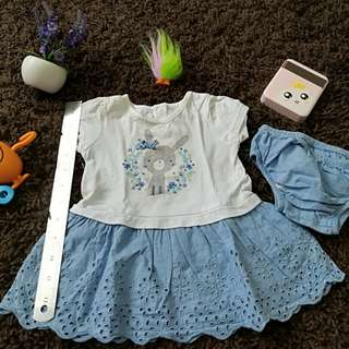 Mothercare Baby Dress 3-6 Months