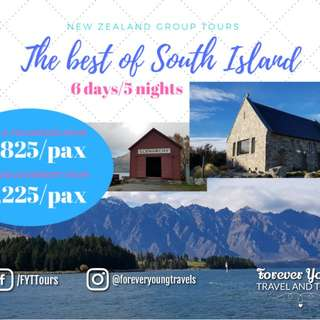 AMAZING SOUTH ISLAND NEW ZEALAND 🇳🇿