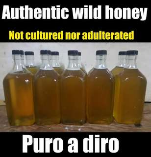 AUTHENTIC WILD HONEY