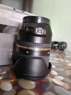 Tamron 24 70 vc Canon mount