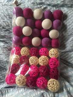 🚚 泰國彩球燈🇹🇭上面紫白色款