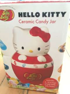 Hello kitty x Jelly Belly 糖果陶瓷罐