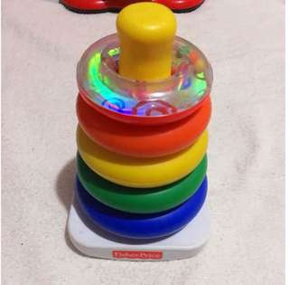 Fisher-Price Rock-a-Stack Toy✨