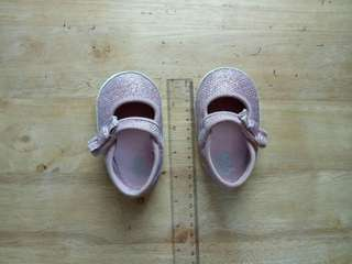Glittery pink shoes (11 cm)