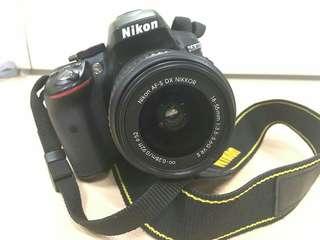 Nikon D5300 with lens kit