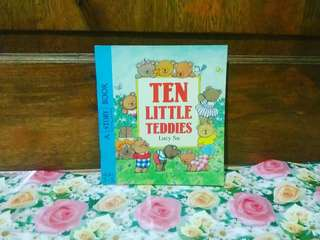 Ten little teddies