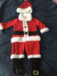 Mothercare Baby's Santa Suit 6-9m