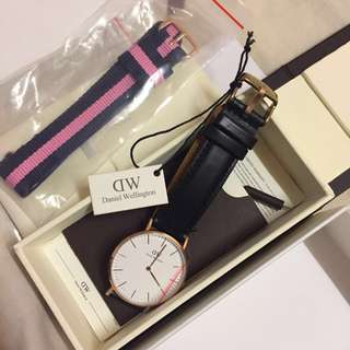 * NEGO TILL LET GO * Daniel Wellington Authentic