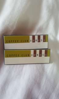 Coffee Club Xpress Name Tag