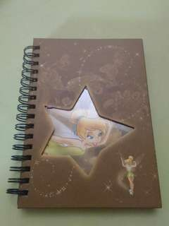 Tinkerbell notebook
