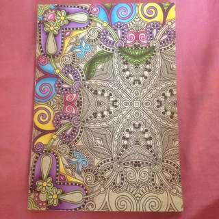 drawing book / buka mewarnai