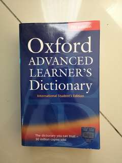 Oxford Advanced Learners English Dictionary
