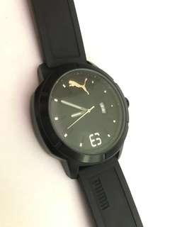 Jam Tangan Puma - Black Rubber