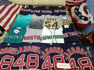 Baseball jersey majestic