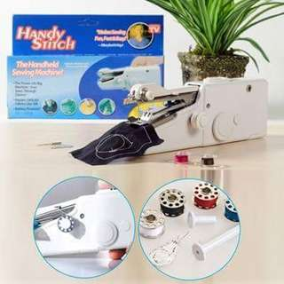Instock Authentic Upgraded Version Electric Handheld Sewing Machine Mini Handy Stitch Portable