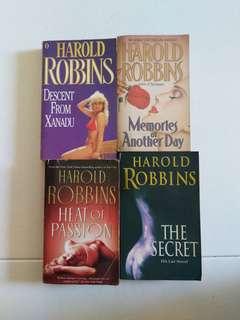 Harold Robbins Books