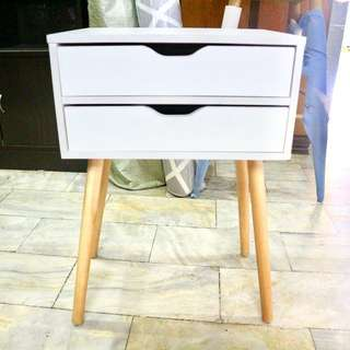 Side Table with Drawers