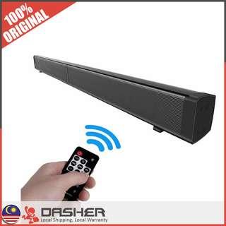 [OFFER!] LP-09 Hi-Fi Subwoofer Slim Magnetic Wireless Soundbar Remote Home Theater Speaker Multimedia Bluetooth Speaker Cinematic