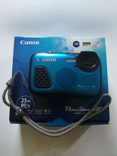 Canon D30 25m waterproof without housing