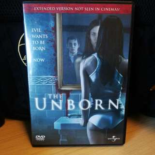 DVD Horror The Unborn Code 3