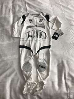 Strom Troopers baby suit