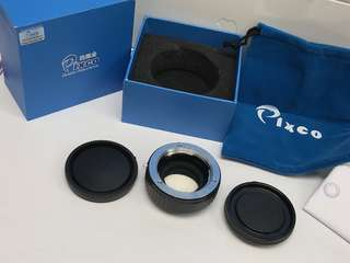 Minolta to E-Mount 減焦增光接環 Sony 用 Pixco lens booster ring(全新未用過)