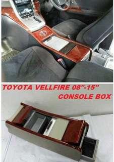 VELLFIRE 08-15 CONSOLE BOX