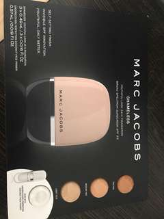 Marc Jacobs shameless 24hr foundation sample sale