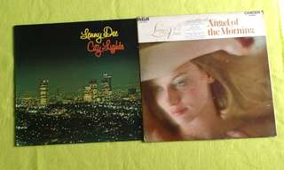 LENNY DEE ● LIVING VOICES . city lights / angel of the morning/ hey jude. ( buy 1 get 1 free )  vinyl record