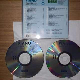 Gd.8 Piano exam. pieces (2007& 2008)