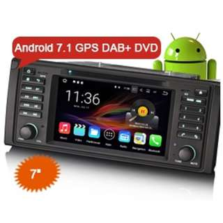 BMW E39 Android DVD Player(CLEAR STOCK/FREE CAMERA)