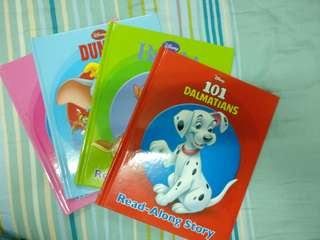 Disney Read Along Story Book (4's)