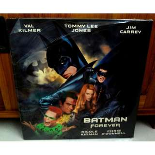 Brand New BATMAN FOREVER Laserdisc LD Movie