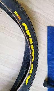 "Mtb Mavic Crossmax endure  tire 650B 27.5 x 2.4"""
