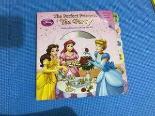 Disney Princess Book with CD