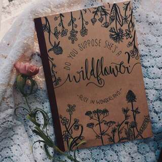 Customised Notebooks (limited period of time)