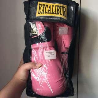 Pink Excalibur Gloves (8oz)