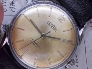 Vintage Gradus Swiss made Gent Watch