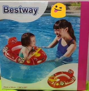 Kids float