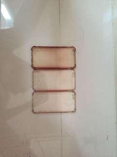 transparent case , miniso