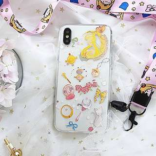 美少女戰士Sailormoon透明iPhone Case