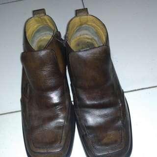 Sepatu kulit BOSSWAY original