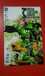 Green Lantern Corps Edge of Oblivion #1