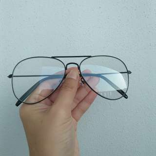 Rayban Aviator Clear Lens Optical Fashion Eyewear