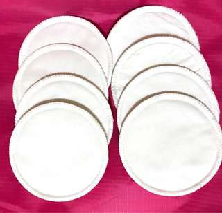 NUK 8 pieces Reusable Washable Breast Pads