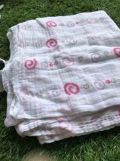Aden's baby napkin